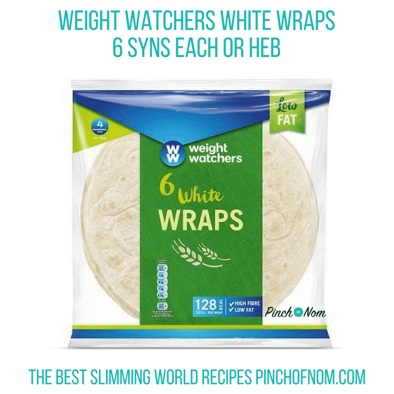 WW wraps still HEB - Pinch of Nom Slimming World Shopping Essentials