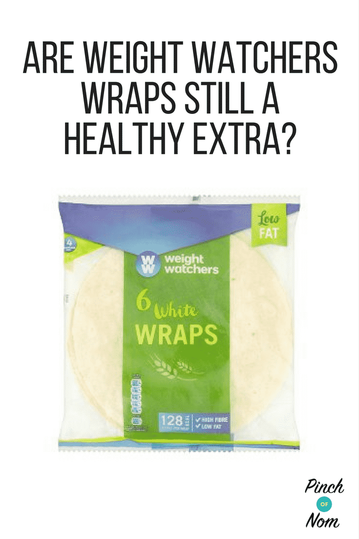 Are Weight Watchers Wraps Still a Healthy Extra? | Slimming World