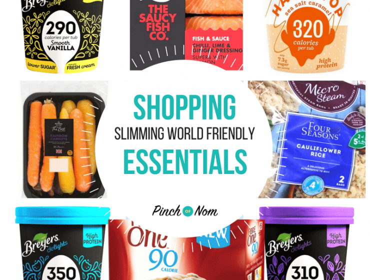 featured image - New Slimming World Shopping Essentials 12:1:18
