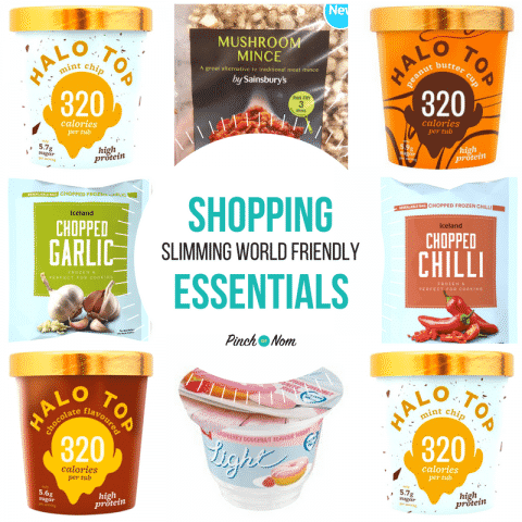 featured image - New Slimming World Shopping Essentials 5-1-18