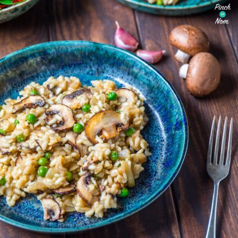 featured - image - Syn Free Garlic Mushroom Risotto | Slimming World-1