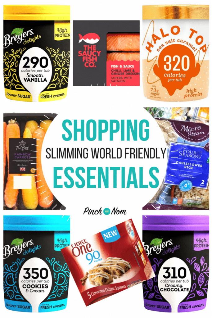 first image - New Slimming World Shopping Essentials 12:1:18