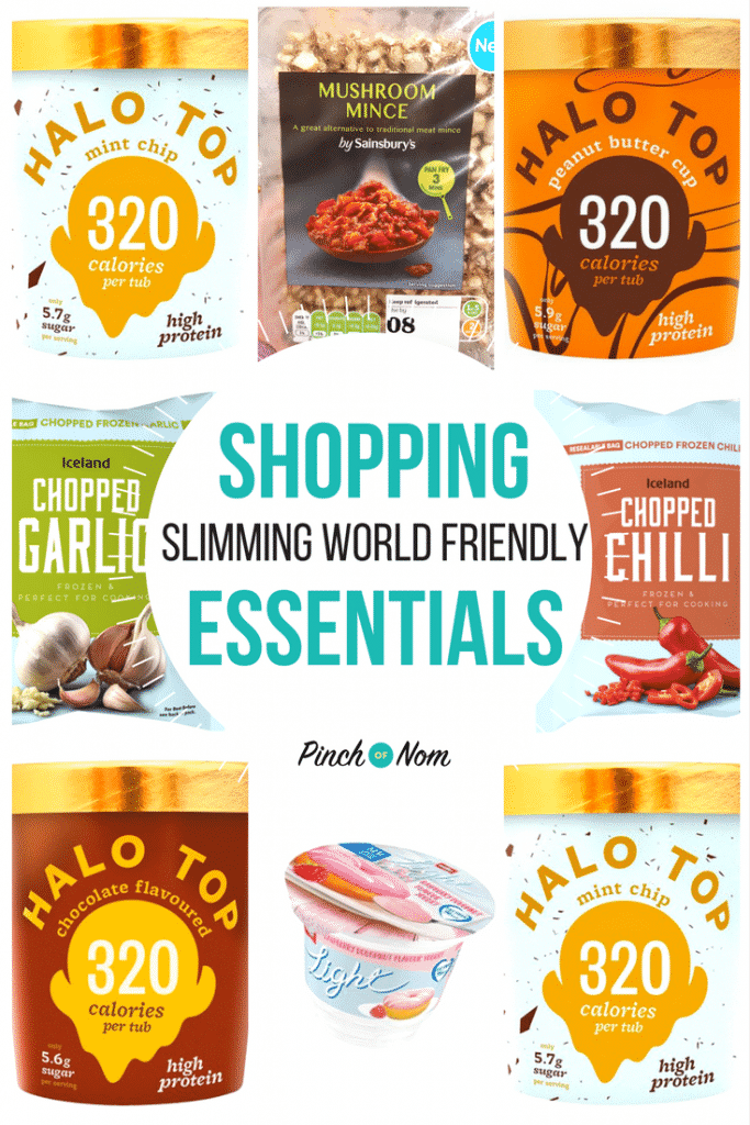 first image - New Slimming World Shopping Essentials 5-1-18