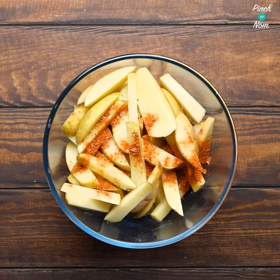 Syn Free Dirty Fries | Slimming World - Step 1