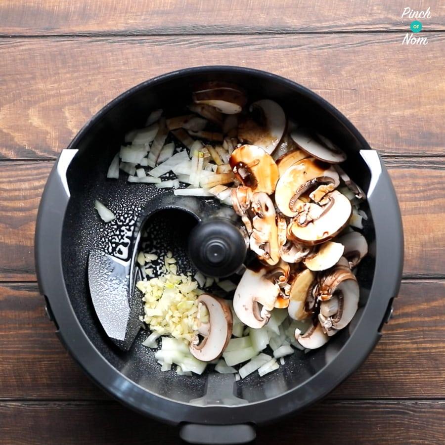 steps - image - Syn Free Garlic Mushroom Risotto | Slimming World-1