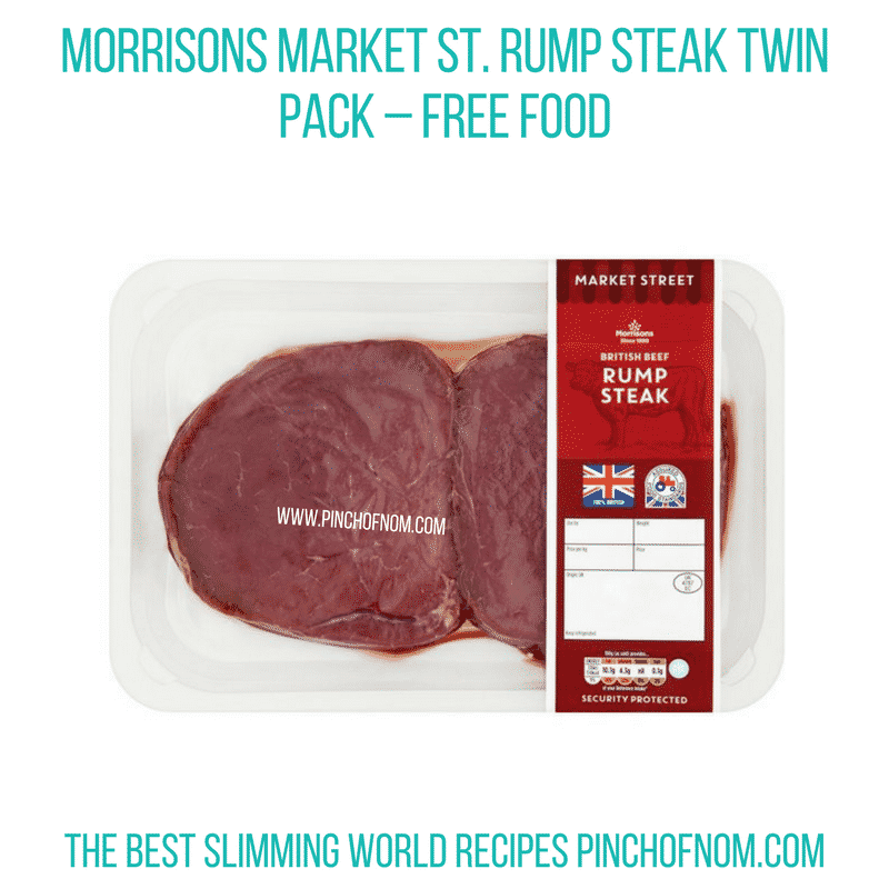 Rump Steak - Pinch of Nom Slimming World Shopping Essentials