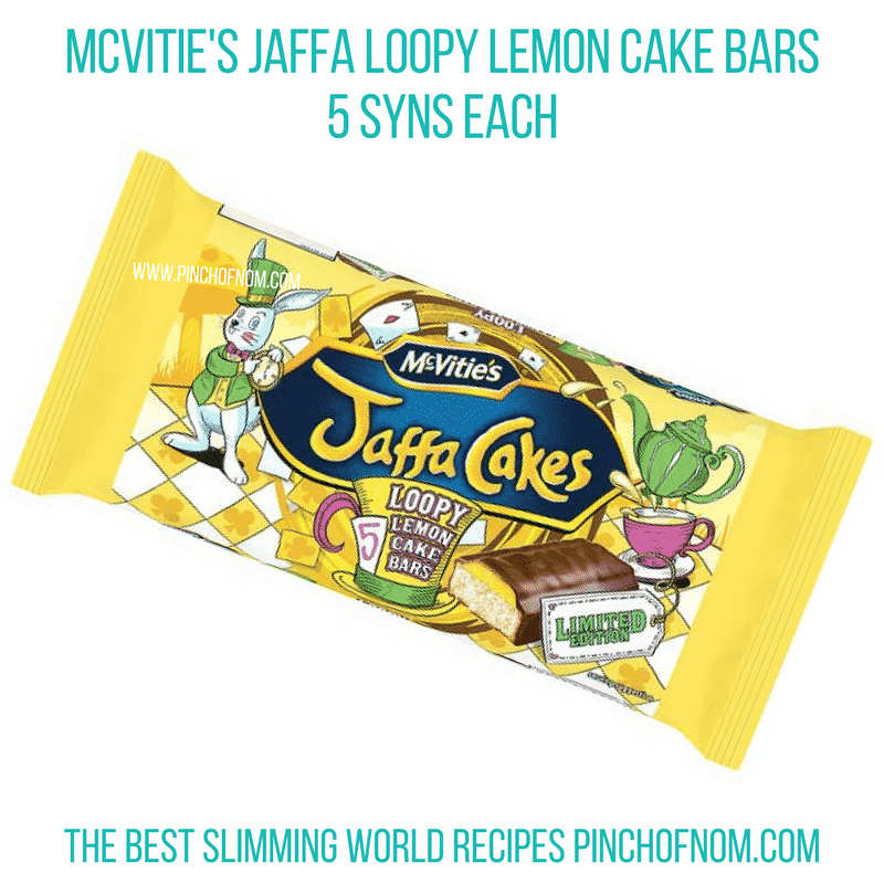 Loopy lemon jaffa cake - Pinch of Nom Slimming World Shopping Essentials