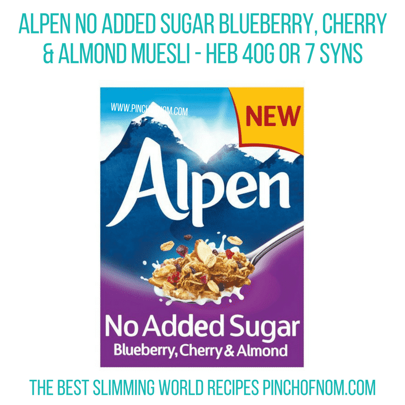 Alpen Blueberry - Pinch of Nom Slimming World Shopping Essentials