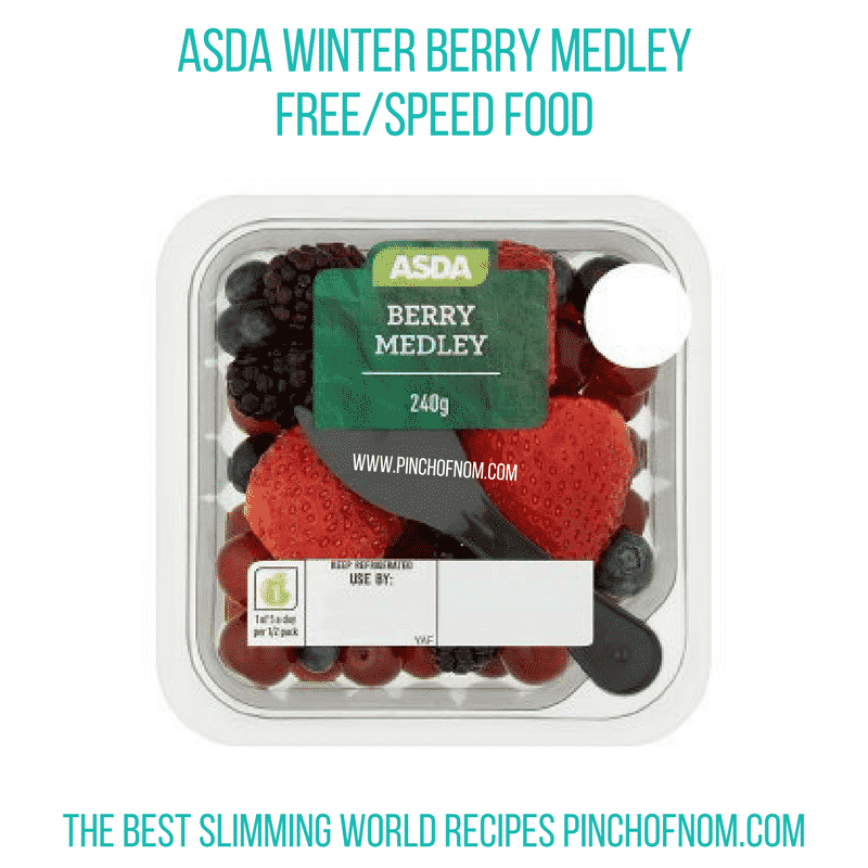 Asda Winter Berry Medley - Pinch of Nom Slimming World Shopping Essentials