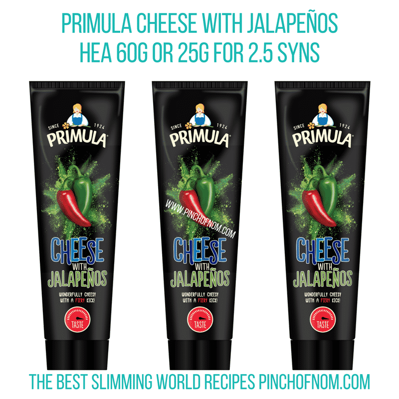 Primula Jalapeños - Pinch of Nom Slimming World Shopping Essentials