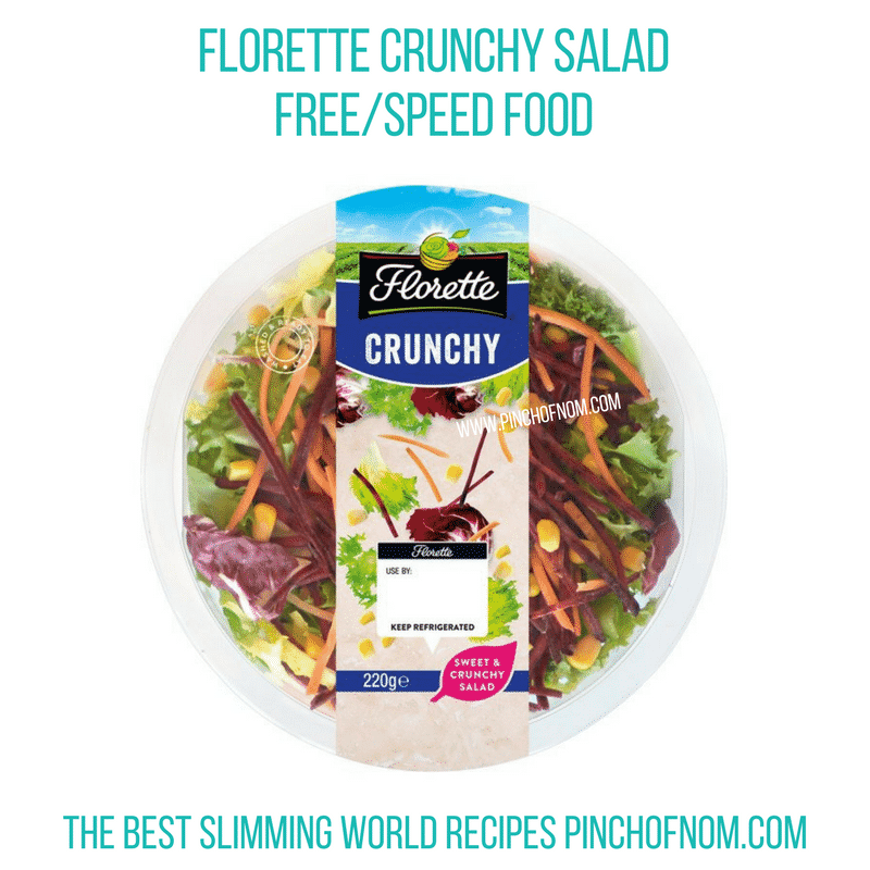 Florette Crunchy Salad - Pinch of Nom Slimming World Shopping Essentials
