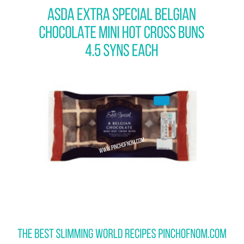 Belgian choc mini hot cross - Pinch of Nom Slimming World Shopping Essentials
