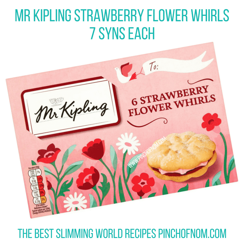 Strawberry whirls - Pinch of Nom Slimming World Shopping Essentials
