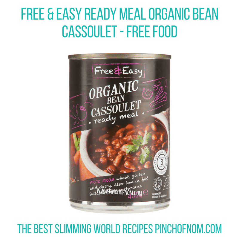 Organic Cassoulet - Pinch of Nom Slimming World Shopping Essentials