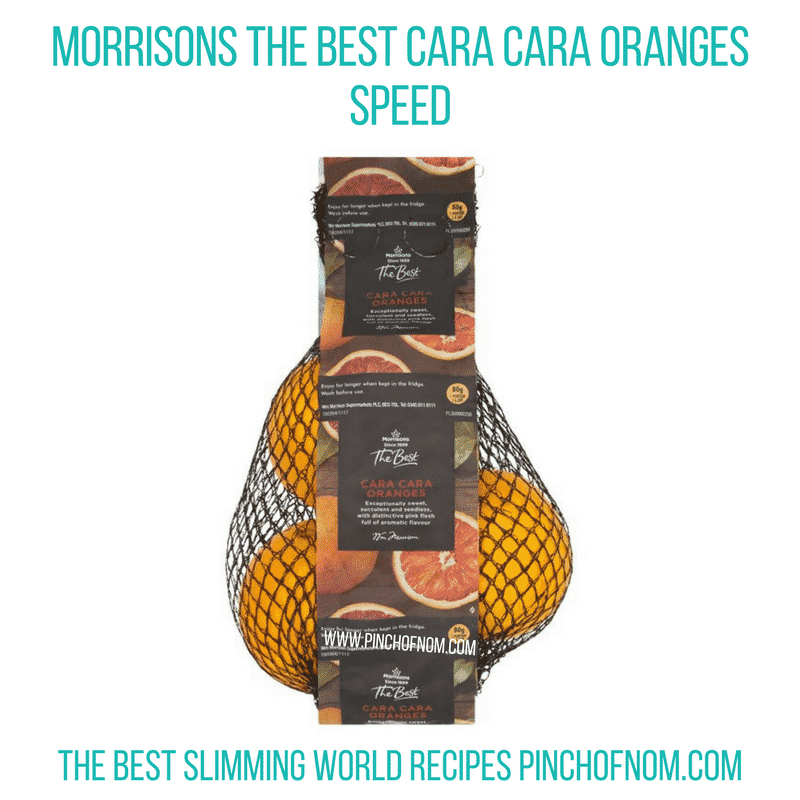 Cara Cara oranges - Pinch of Nom Slimming World Shopping Essentials