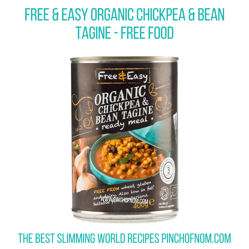 Chickpea tagine Pinch of Nom Slimming World Shopping Essentials