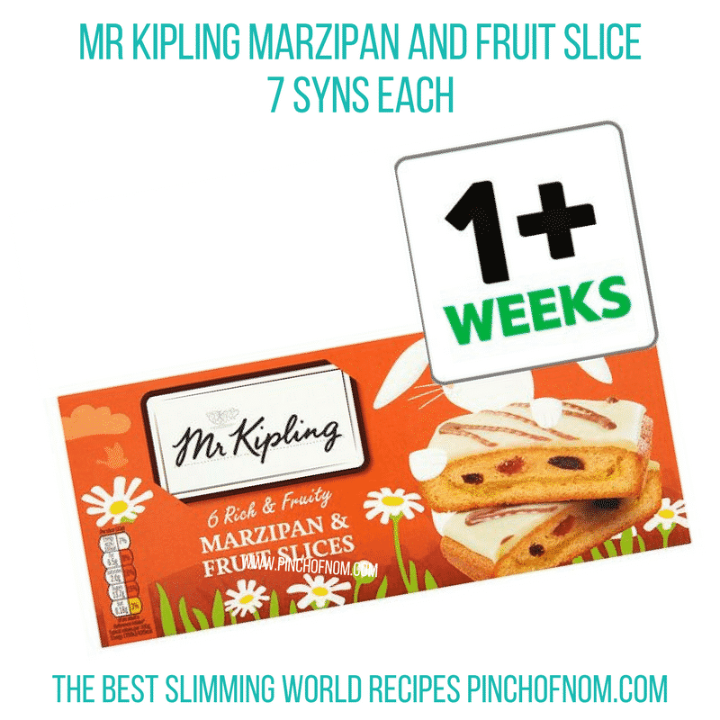 Mr Kipling Marzipan - Pinch of Nom Slimming World Shopping Essentials