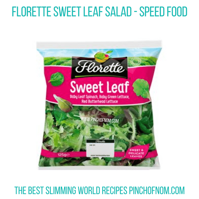 Florette Sweet Leaf - Pinch of Nom Slimming World Shopping Essentials