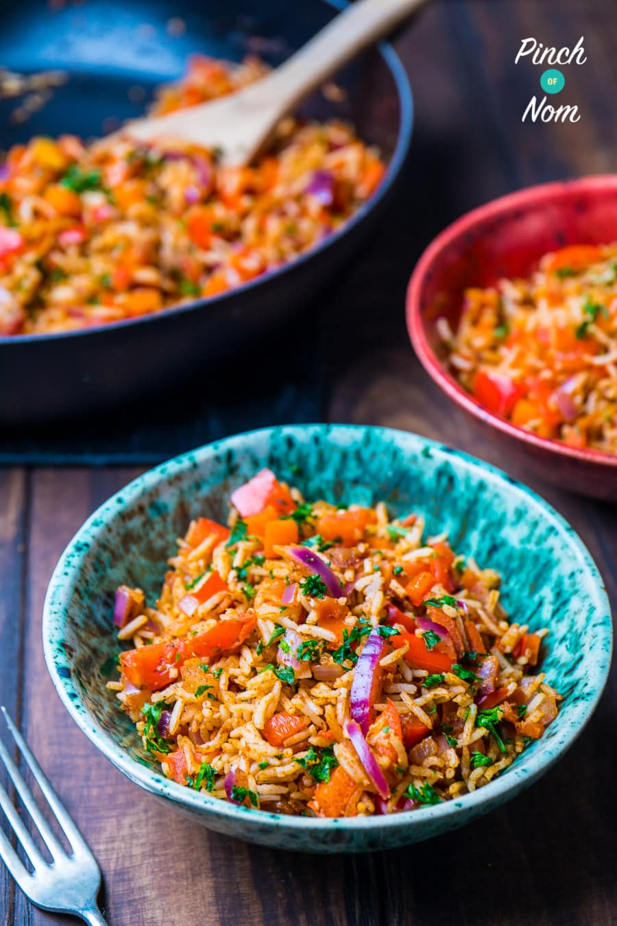 Indian Fried Rice | Slimming & Weight Watchers Friendly