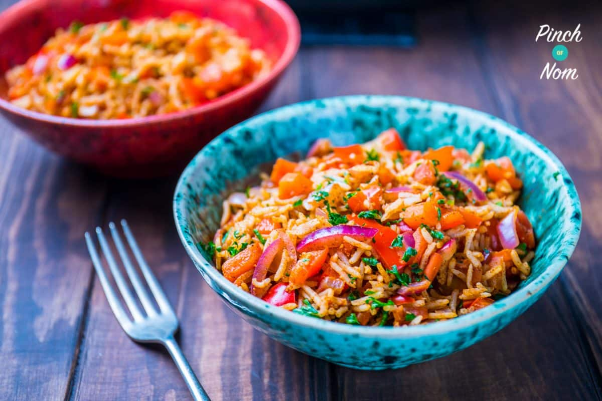 Syn Free Indian Fried Rice | Slimming World 5