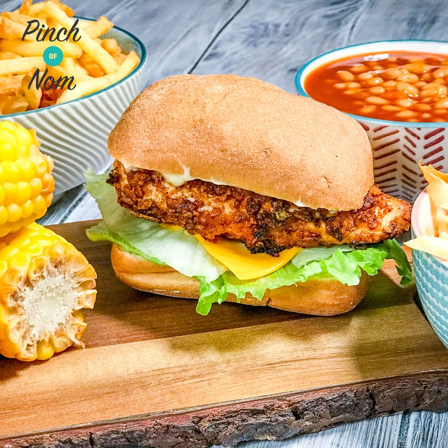 Low Syn KFC Zinger Burgers | Slimming World - Pinch Of Nom