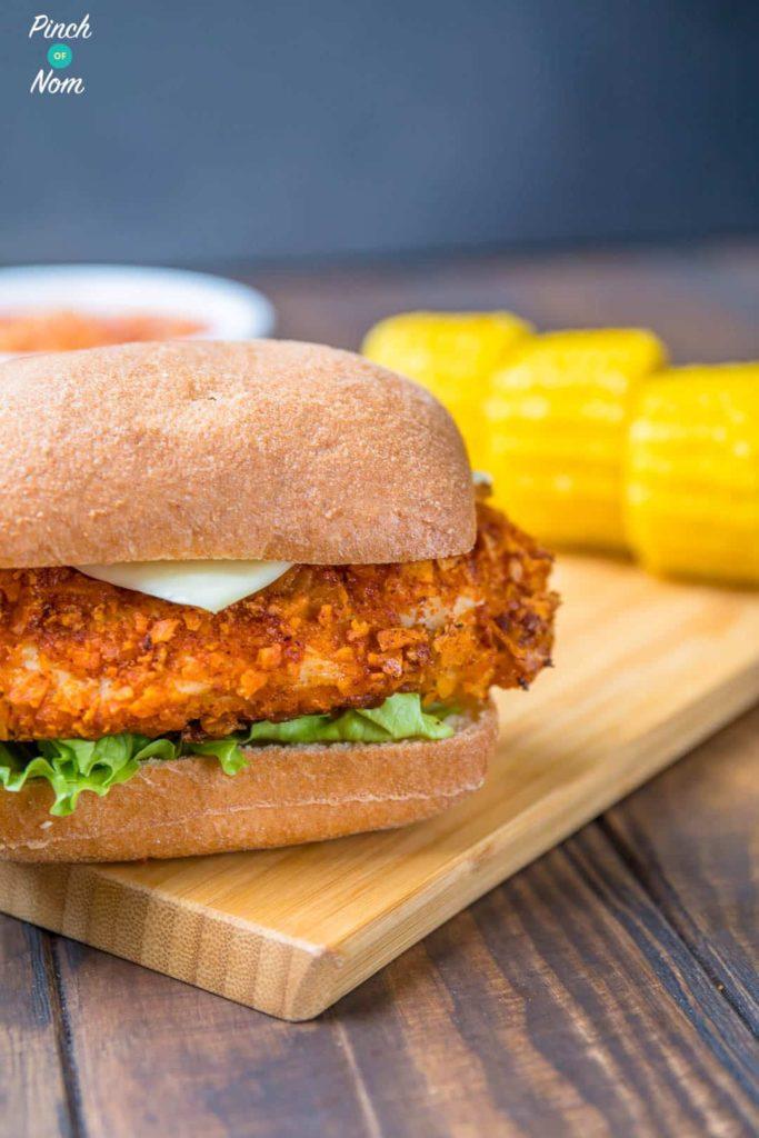 KFC Zinger Burger Fakeaway   Slimming & Weight Watchers Friendly