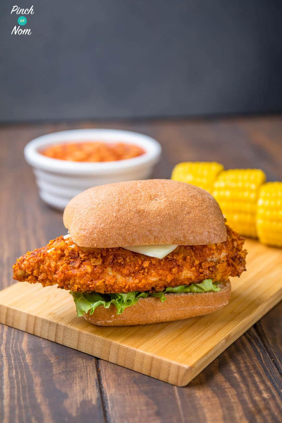 Crispy Jerk Chicken Stack | Slimming World & Weight ...