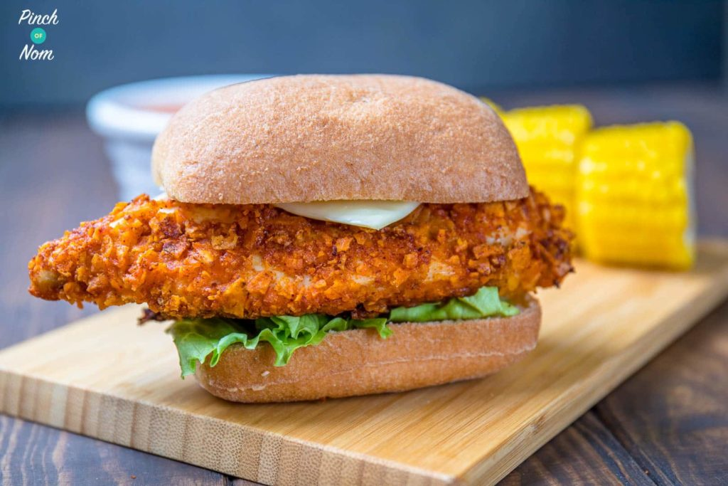 KFC Zinger Burger Fakeaway | Slimming & Weight Watchers Friendly