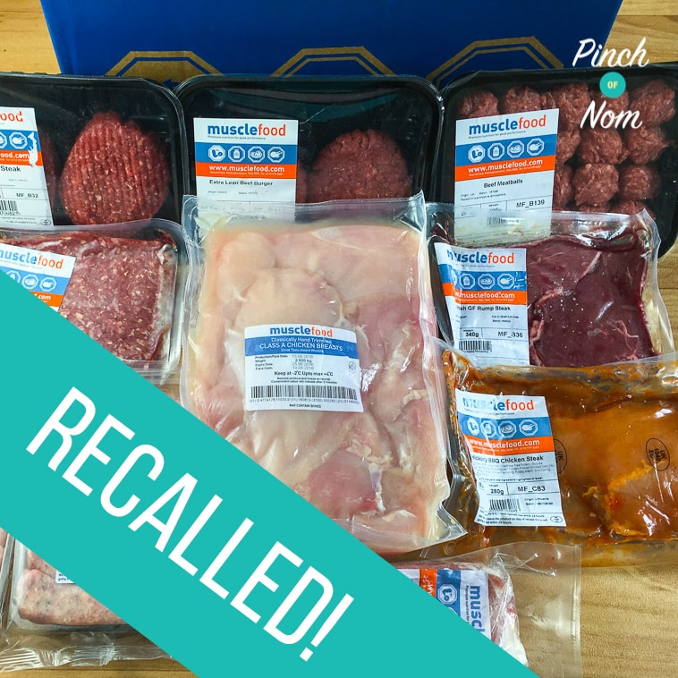 Muscle Food Recalls 60+ Meat Products | Slimming World