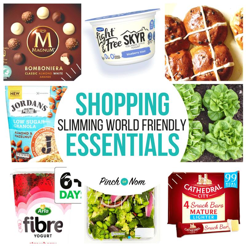 New Slimming World Shopping Essentials 16 2 18 Pinch Of Nom