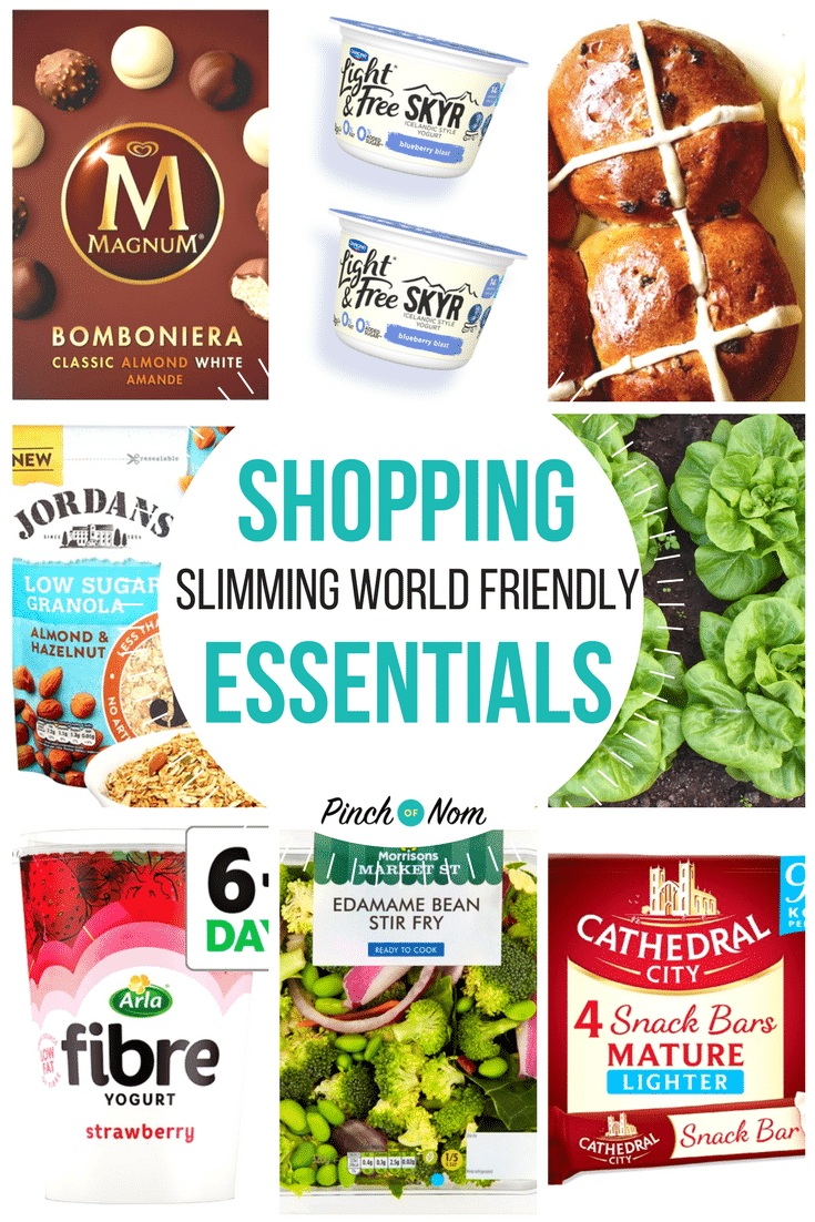 New Slimming World Shopping Essentials 16 2 18 Pinch Of Nom