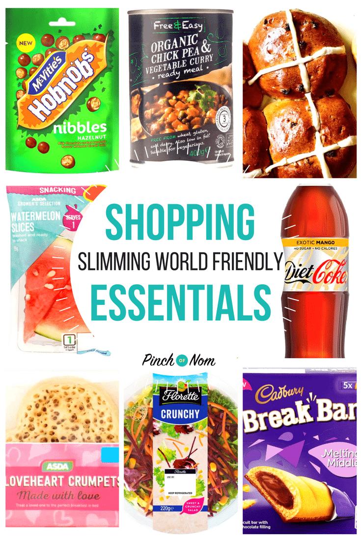New Slimming World Shopping Essentials 9 2 18 Pinch Of Nom