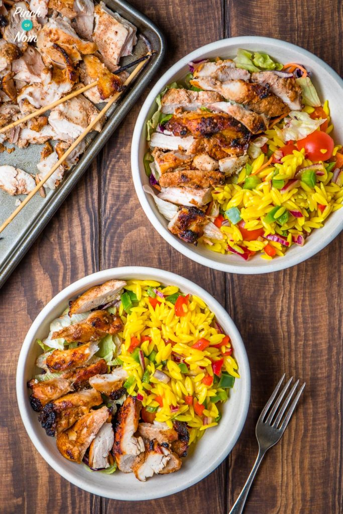 steps - Syn Free Chicken Kebabs | Slimming World-1