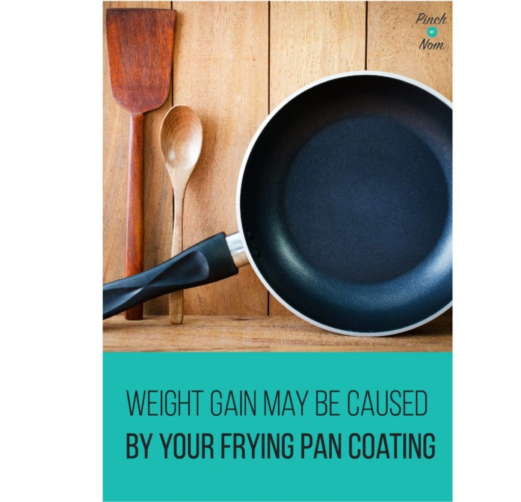 Weight Gain my be Caused by your Frying Pan Coating