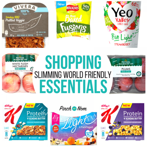 featured - New Slimming World Shopping Essentials 2:2:18