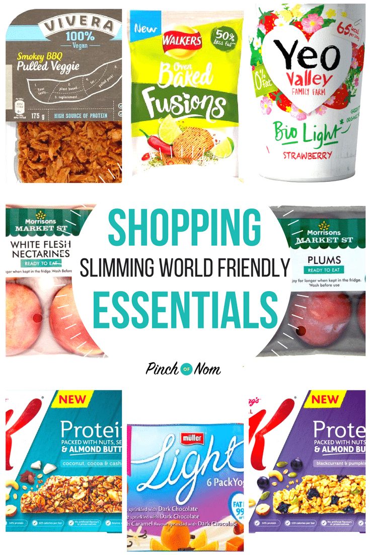 New slimming world shopping essentials 2 2 18 pinch of nom New slimming world products