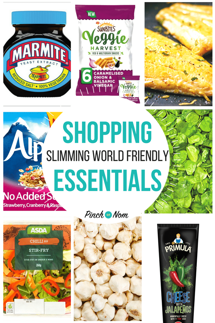 New slimming world shopping essentials 23 2 18 pinch of nom for Slimming world official website