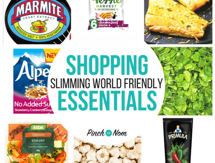 New Slimming World Shopping Essentials 23/2/18