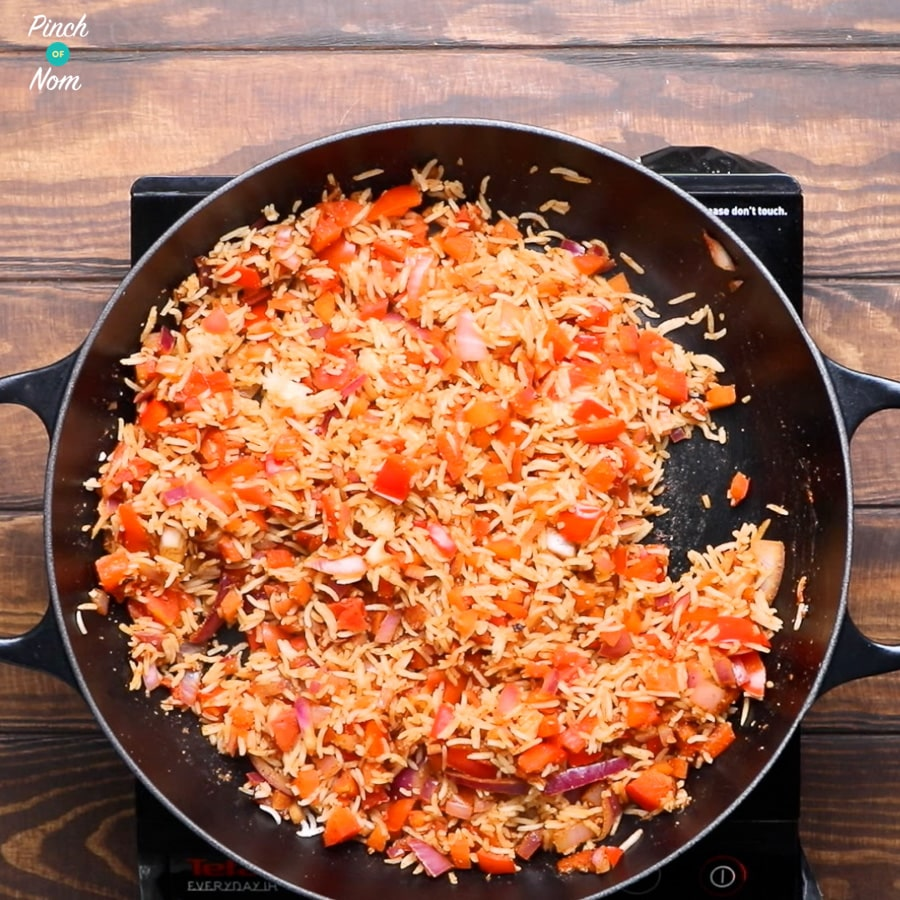 Syn Free Indian Fried Rice | Slimming World - rice