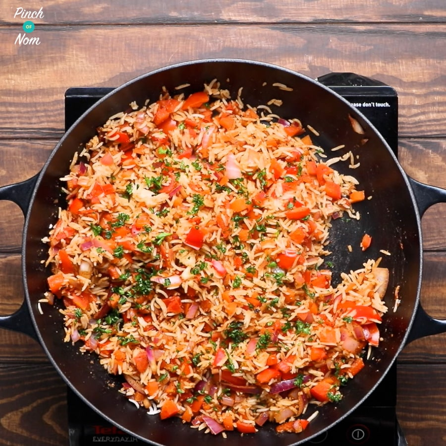 Syn Free Indian Fried Rice | Slimming World - corinader
