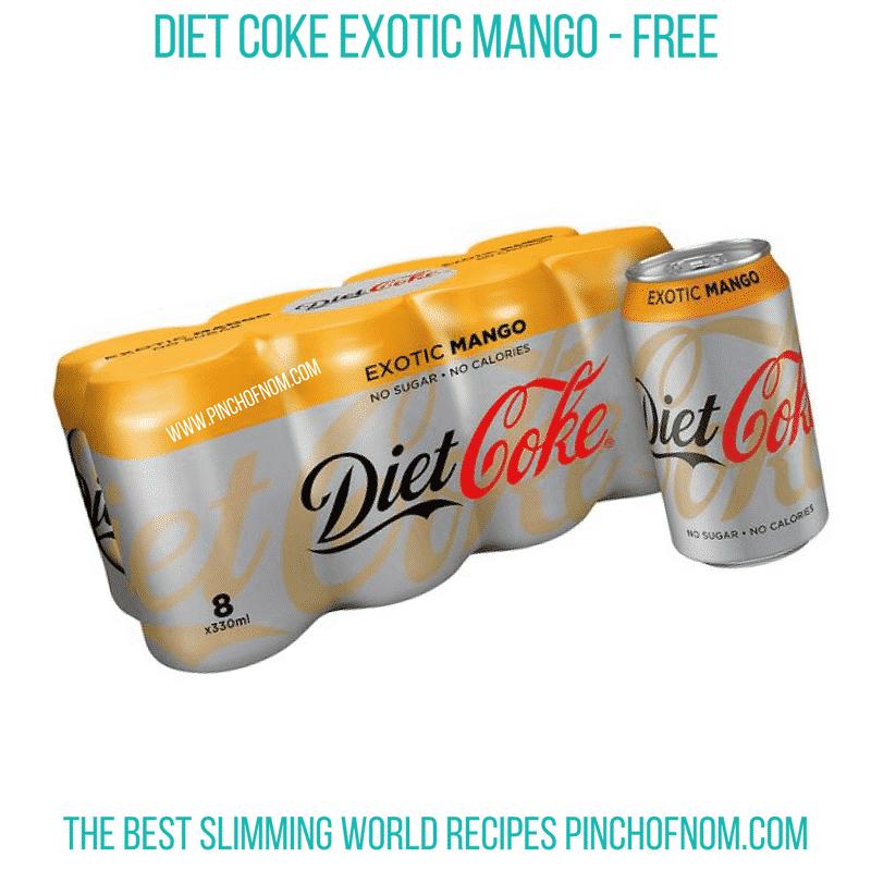 Diet coke mango - Pinch of Nom Slimming World Shopping Essentials