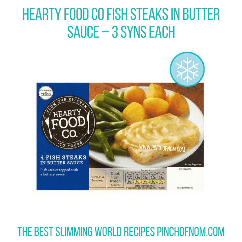Fish butter sauce - Pinch of Nom Slimming World Shopping Essentials