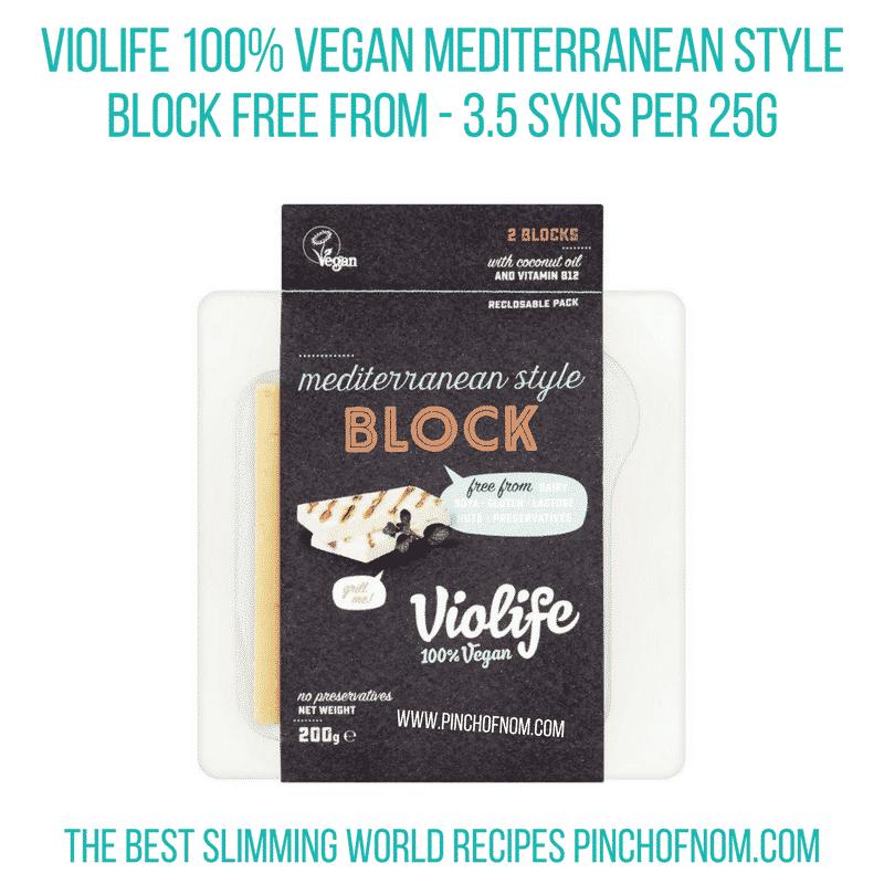Violife Mediterranean - Pinch of Nom Slimming World Shopping Essentials