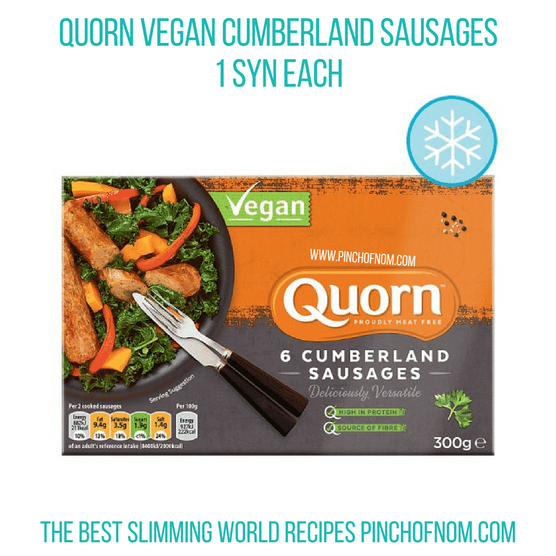 Quorn Cumberland - Pinch of Nom Slimming World Shopping Essentials