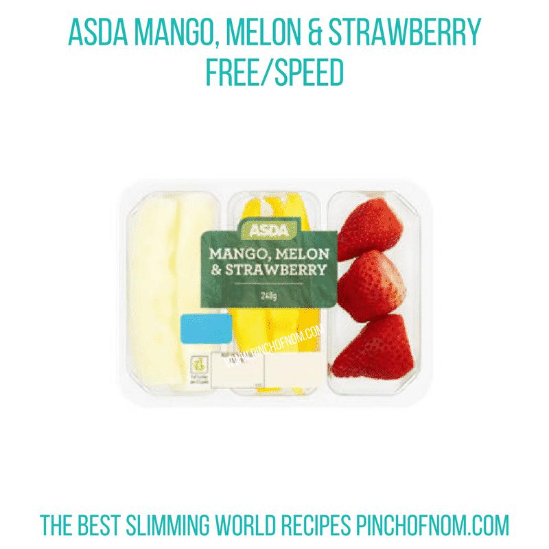 Asda Mango Melon Strawb - Pinch of Nom Slimming World Shopping Essentials