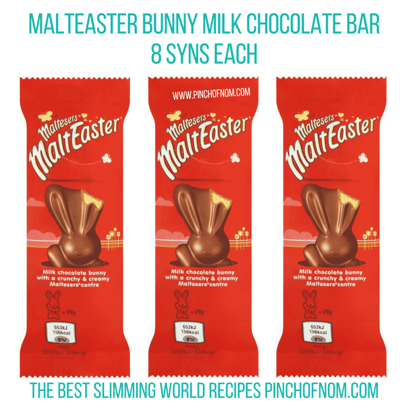 Malteaster bunny - Pinch of Nom Slimming World Shopping Essentials