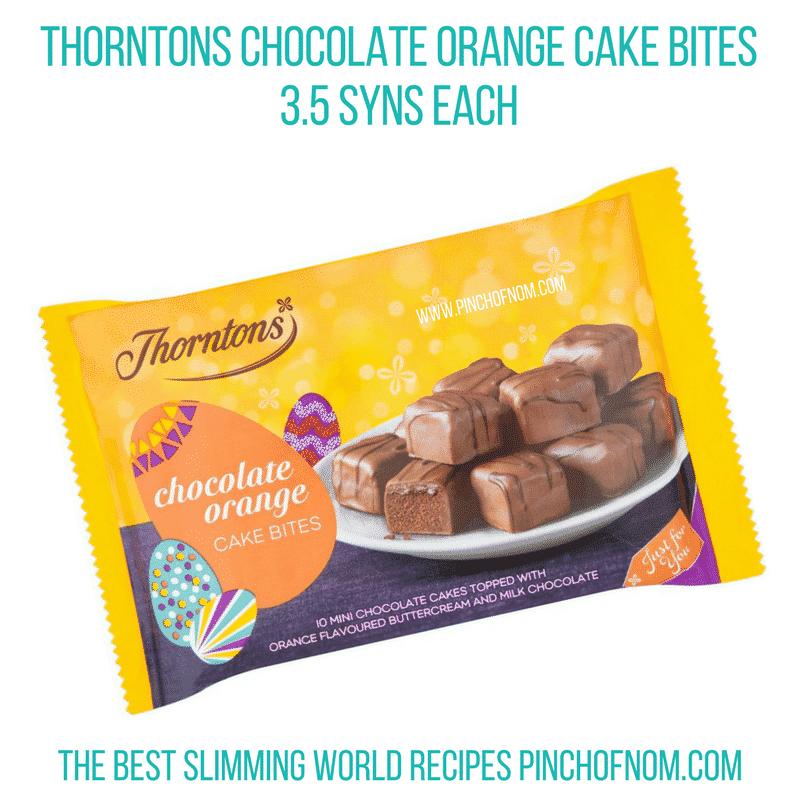 Thorntons choc orange - Pinch of Nom Slimming World Shopping Essentials