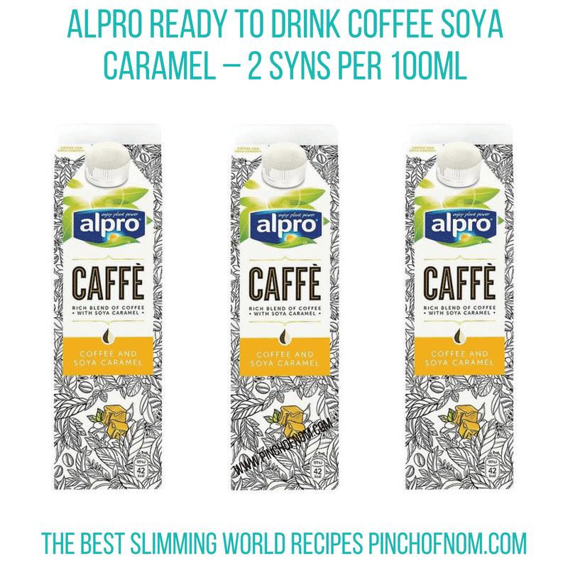 Alpro RTD Coffee Soya Caramel - Pinch of Nom Slimming World Shopping Essentials
