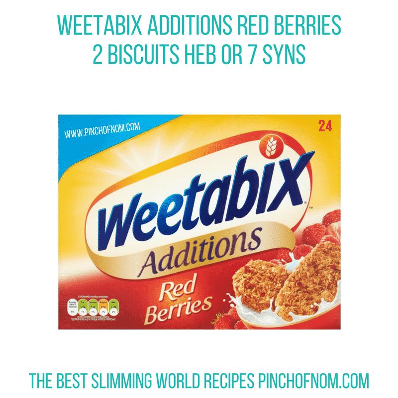 Weetabix Red Berries - Pinch of Nom Slimming World Shopping Essentials