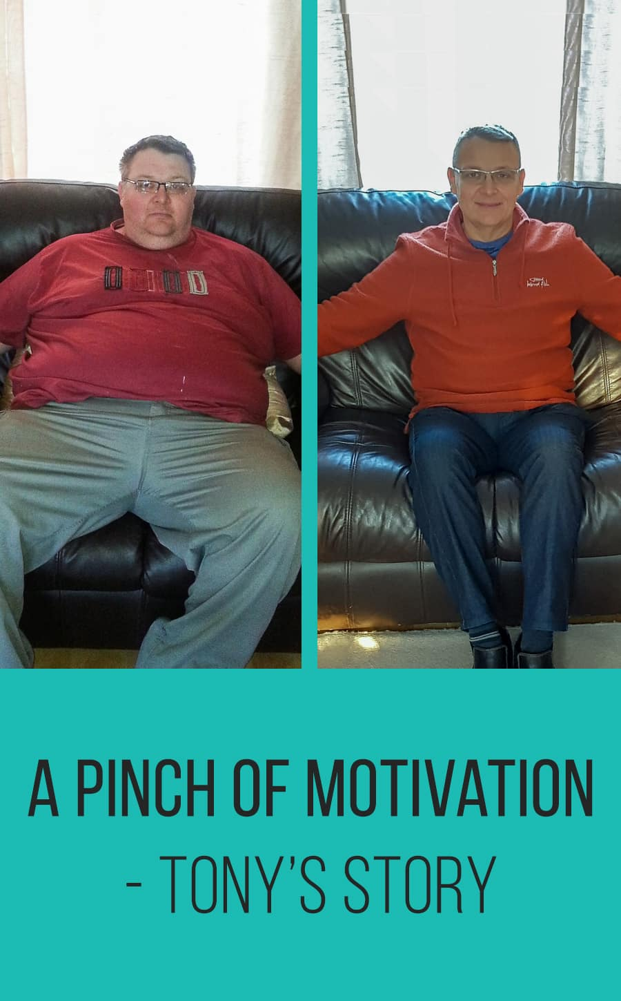 A Pinch of Motivation - Tony's Story-First Image
